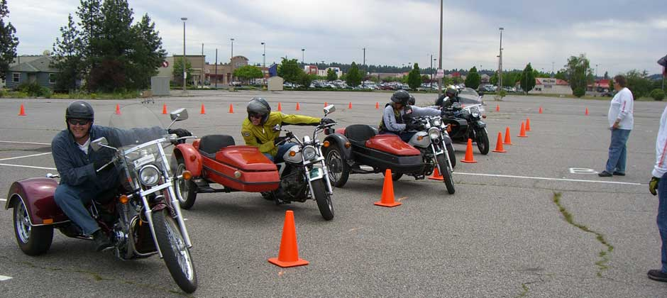 3 Wheel/Trikes and Sidecar Training